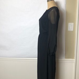 Twelfth Street by Cynthia Vincent Dresses - Twelfth Street sheer sleeve maxi dress